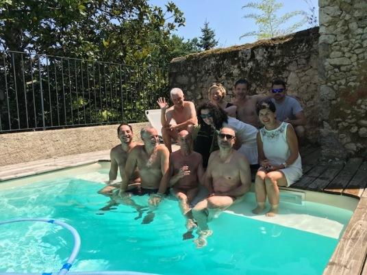 SJ Group at Pool