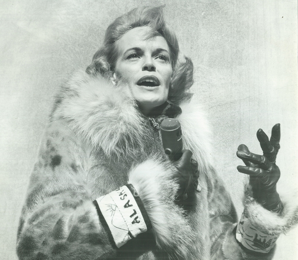 Photo of Genie Chance (1927 - 1998), American journalist, radio broadcaster, and Alaska state politician.
